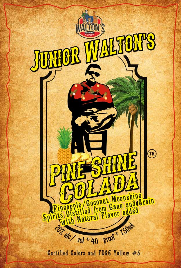 Junior Walton's Pine Shine Colada