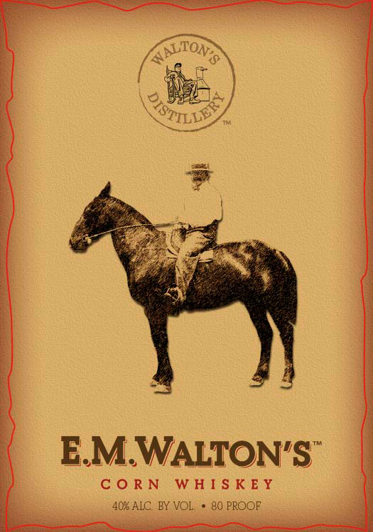 E.M. Walton's Corn Whiskey