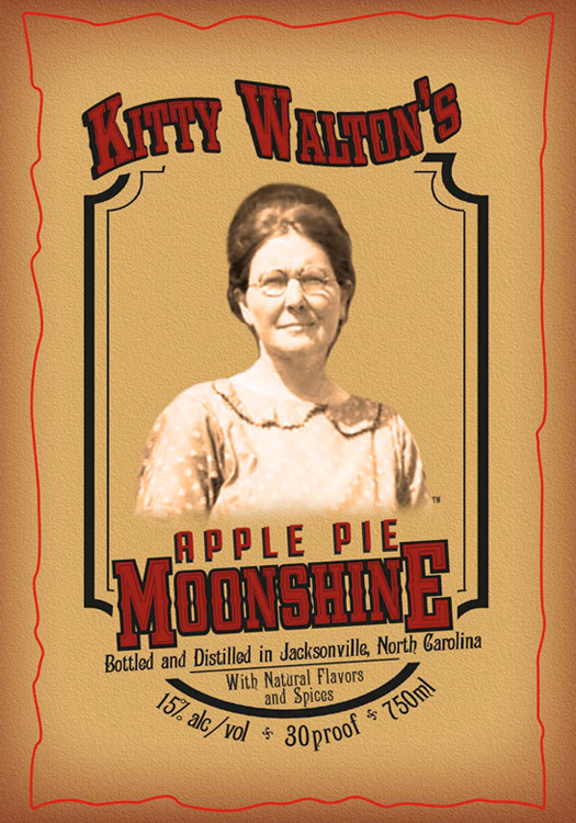 Kitty Walton's Apple Pie Moonshine