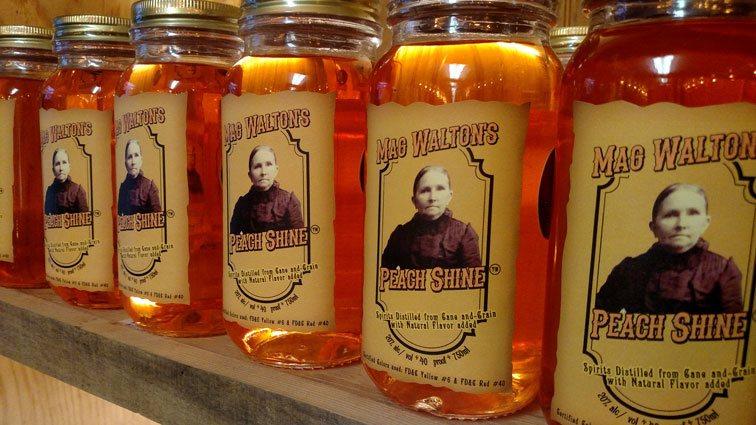 Mag Walton's Peach Shine