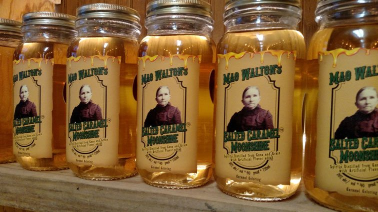 Mag Walton's Salted Caramel Shine
