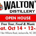 Open House at Waltons Distillery Saturday October 14th