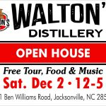 Open House at Waltons Distillery Sat Dec 2